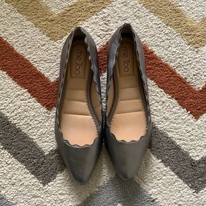 New Me Too leather flats - size 6
